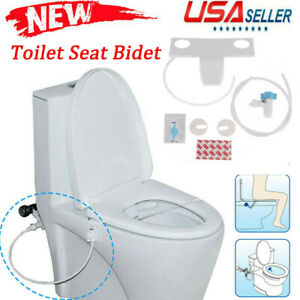 Fresh Water Spray Non-Electric Mechanical Bidet Toilet Seat Attachment Accessory