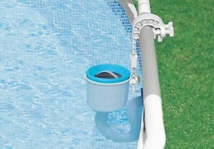 Deluxe Wall Mount Surface Skimmer Easy Set for Metal Frame Type Pool 1 Pack New