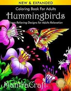 108 Pages Adult Coloring Book: Stress Relieving Designs for Adults Relaxation