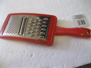 COOKING CONCEPTS - 3-IN-1 GRATER - NEW - RED