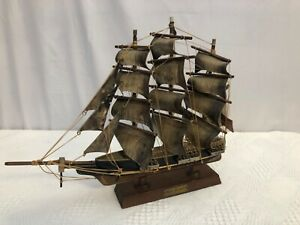 Red Jacket 1853 Wooden Replica Ship Boat Sea Nautical $40.00