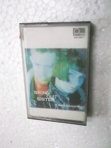SWING OUT SISTER  KALEIDOSCOPE WORLD MIL   RARE orig CASSETTE TAPE INDIA indian