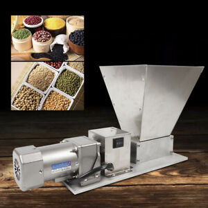 Electric Grain Mill Barley Grinder Malt Crusher Grain Mill Home Brew Mill 110V!