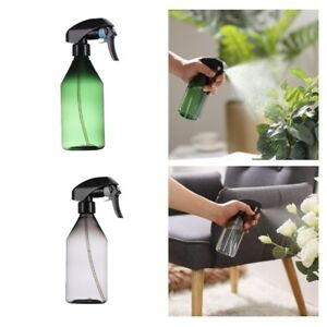 2x Refillable Water Spray Bottle 10oz Hair Sprayer Container for Misting Plants