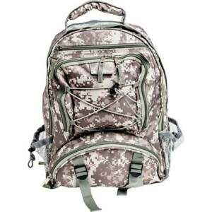 Extreme Pak™ Digital Camo Water-Resistant Backpack LUBPSD