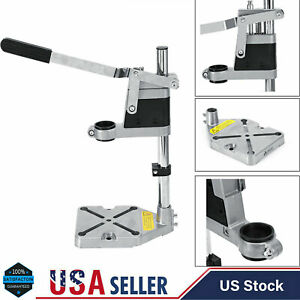 New 38mm-43mm Bench Clamp Mini Drill Press Stand Workbench Repair Drilling Tool
