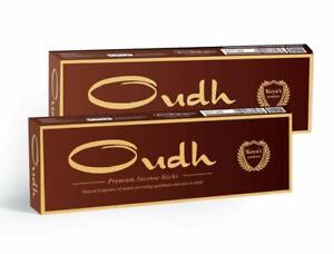 Oudh Incense Sticks Fragrance for Pooja Home Office Party Pack of 2 100 GMS