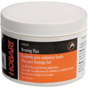 Hobart Brazing Flux - For Use with Bare Bronze, 1/2-Lb. Canister, Model# 770119