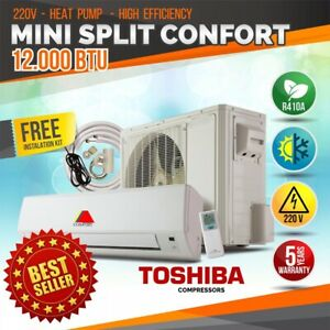 12000 BTU Air Conditioner Mini Split AC System Ductless COLD ONLY 220V/60HZ