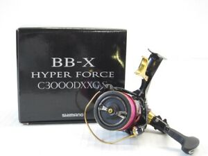 SHIMANO 17 BB-X HYPER FORCE scan C3000DXXG SUT spinning reelLimited Good con