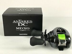 Used SHIMANO ANTARES DC MDXG bait reel 03875 left handleLimited Good condit