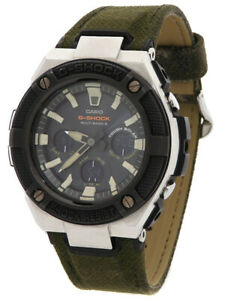 Used CASIO G-SHOCK G Steel GST-S330AC-3A military design Men's Solar radio Q