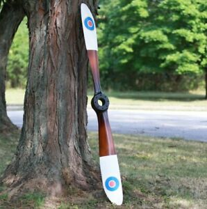 British Royal Air Force Vintage WWII Wooden Airplane Propeller $247.00