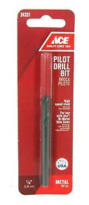 """Ace Pilot Drill Bit 24331 1/4"""" 6.35mm Metal S7 New In Package"""