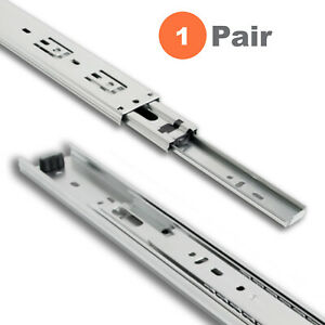 Side Mount Full Extension Ball Bearing Drawer Slides 10