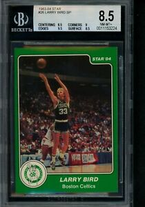 1983 84 Star #26 Larry Bird SP BGS 9.5