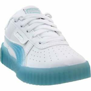 Puma Cali Iced Lace Up Sneakers Kids Boys Girls Casual Sneakers Blue Boys $24.99