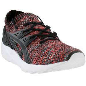 ASICS GEL Kayano Trainer Knit Casual Training Shoes Black Mens $28.15