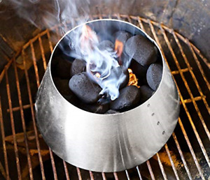 BBQ Weber Kettle Grill Accessories Stainless Steel Smokey Mountain HI Efficiency