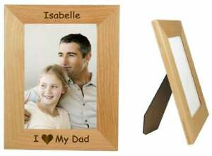 Father's Day Gift, Gift For Dad, Custom Photo Frame, I Lolve Dad Gift