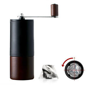Driver Manual Coffee Grinder Handy Stainless Steel Burr Portable Travel Camping