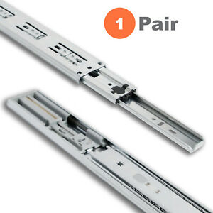 Soft Close Side Mount Ball Bearing Drawer Slides 12 to 24 High Quality