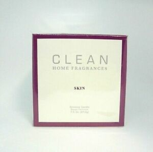 CLEAN Home Fragrances Limited Edition SKIN Scented Candle 7.5 oz Sealed