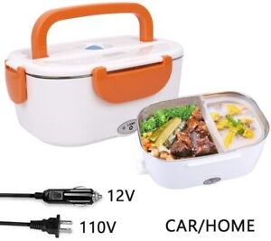 2 in 1 Electric Lunch Box for Women Men Portable Food Heater Warmer Cooker