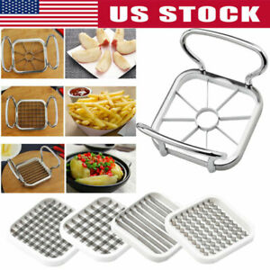 5 In1 French Fry Potato Cutter Vegetable Fruit Slicer Chopper Dicer Kitchen Tool