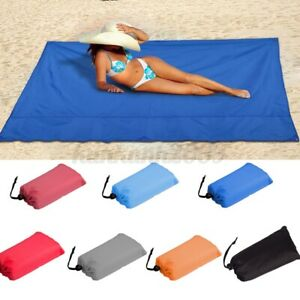 Outdoor Waterproof Portable Foldable Pocket Blanket Picnic Camping Beach   US