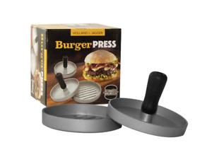 Burger Press—Hamburger Patty Maker for Stuffed Burgers—Quality BBQ Grilling Acce