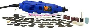 Variable Speed Rotary Tool Kit Grinder Cutter 100 Piece Accessories Dremel Set