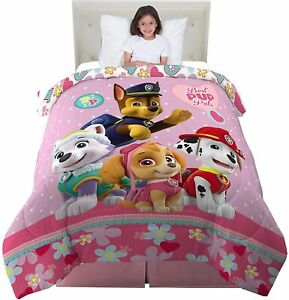 Paw Patrol Kids Bedding Super Soft Reversible Twin/Full Size Comforter-72