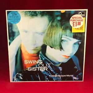 SWING OUT SISTER Kaleidoscope World 1989 UK VINYL LP + INNER EXCELLENT CONDITION