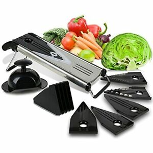 Premium Mandoline Fruit amp;amp Vegetable Cutter For Home Business Cheese Grater 5
