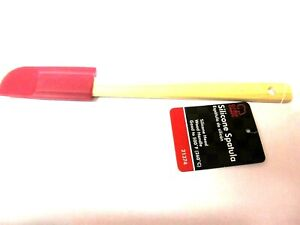 Chef Craft Silicone Spatula #21374 Wooden Handle 9quot; long NEW