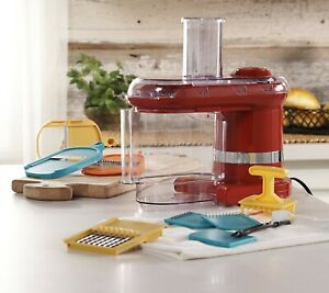 Cook's Essentials Electric Mandoline & Food Slicer with 7 Types of Blades