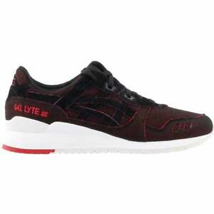 ASICS GEL Lyte III Casual Training Shoes Black Mens $32.85