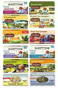 Celestial Seasonings Tea - Choose from 9 different Flavors (Buy More and Save)