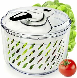 Fullstar Large Salad Spinner Lettuce Dryer - Easy Spin Salad Spinner Large...
