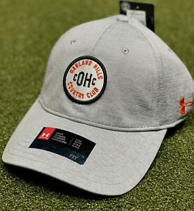 Under Armour Oakland Hills Country Club UA Free Golf Fitted Hat Cap L XL 80163 $15.90