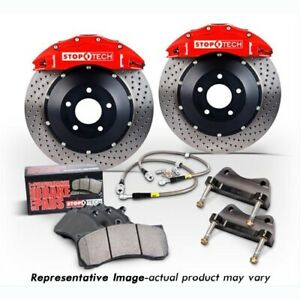 StopTech 83-1536D00R2 Front Big Brake Kit 380mm x 35mm 2 Piece Drilled Rotors ST