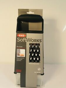 OXO Good Grips Soft Works Stainless Steel Box Grater W/ Container