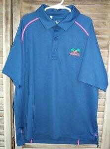 UNDER ARMOUR Loose Fit Heat Gear Polo Shirt the COLONIAL YLG youth large L s s $13.95