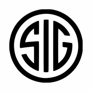 Sig Sauer Gun Logo Decal Sticker 1 2 3 4 5