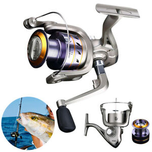 Spinning Reels 12BB Ball Bearing Fishing Reels Saltwater Freshwater Left Right