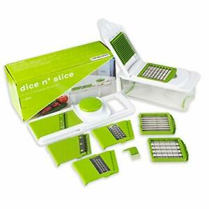 Dice n Slice Vegetable Chopper and Slicer, Kitchen Gadget with Grater, Mandoline