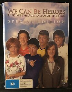 We Can Be Heroes Special Edition DVD The Nominees Australian TV Show REGION 4