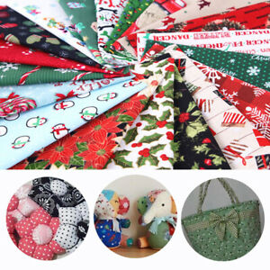 5 10PCS Quilting Square Mix Cotton Fabric Patchwork Cloth for DIY Craft Sewing $4.74