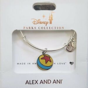 Disney Parks Alex And Ani Toy Story PIXAR Luxo Ball Silver Bangle Bracelet NEW $24.50